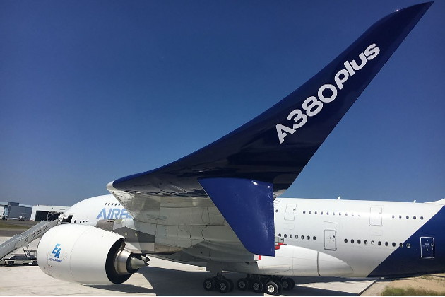 В Париже показали новый Airbus A380 Plus (ВИДЕО): http://by24.org/2017/06/19/new_airbus_a380_plus_presented_in_paris/