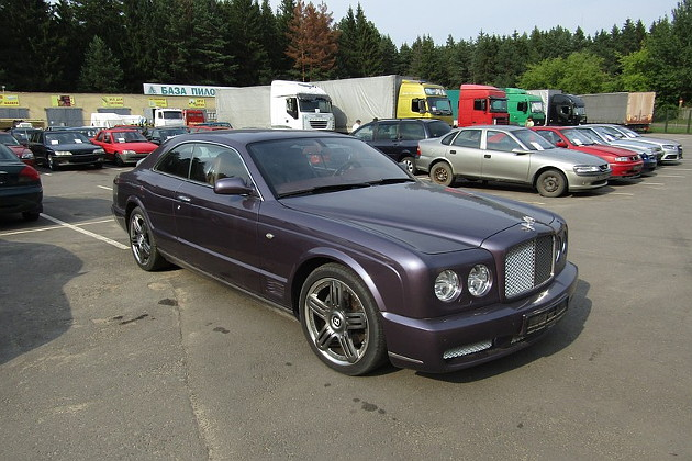Конфискованный Bentley Brooklands Виталия Арбузова